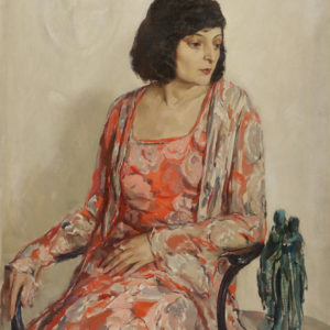 Дечко Узунов (1899-1986) <br> Портрет на Мария Стоилова, 1932