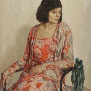 Dechko Uzunov (1899–1986) <br> Portrait of Maria Stoilova, 1932