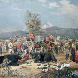 Антон Митов (1862–1930) <br> Пазар на грозде, 1894