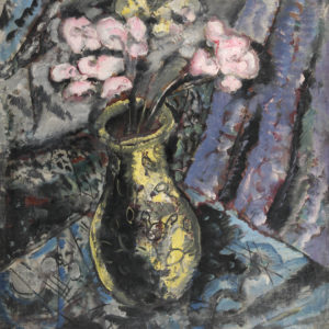 Sirak Skitnik (1883–1943) <br> Vase with Flowers, 1935