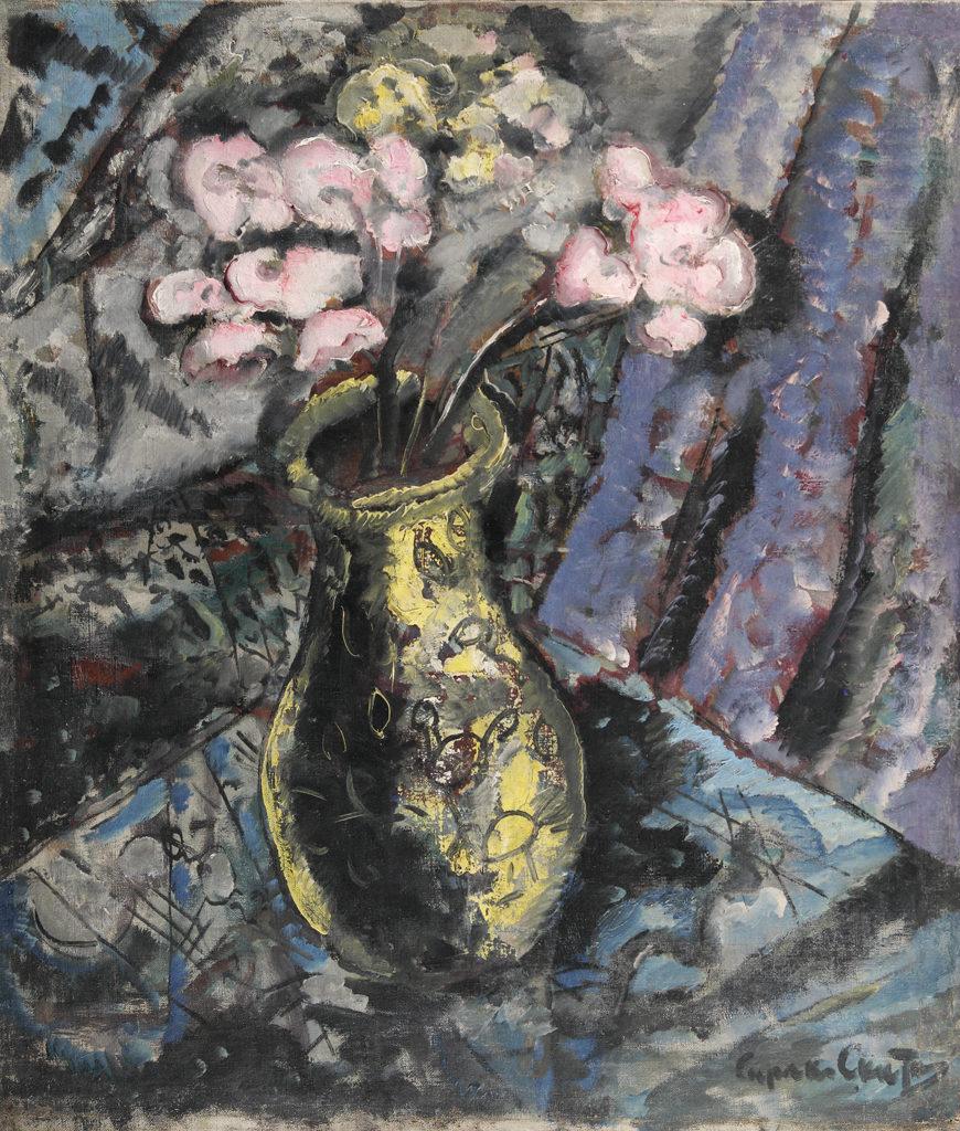 Сирак Скитник (1883-1943) <br> Ваза с цветя, 1935