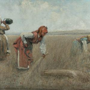 Иван Ангелов (1864–1924) <br> Жътва в Чепинско, 1905
