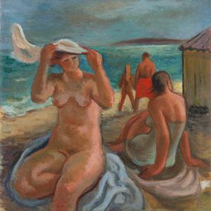 Вера Недкова (1906-1996) <br> Къпeщи се, 1942