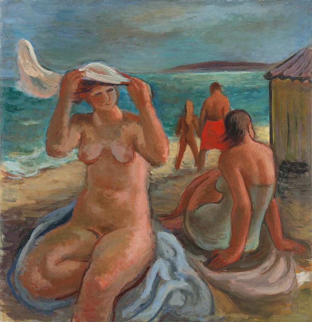 Vera Nedkova (1906–1996) <br> Bathers, 1942