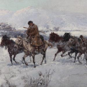 Ярослав Вешин (1860–1915) <br> Връщане от пазар, 1898