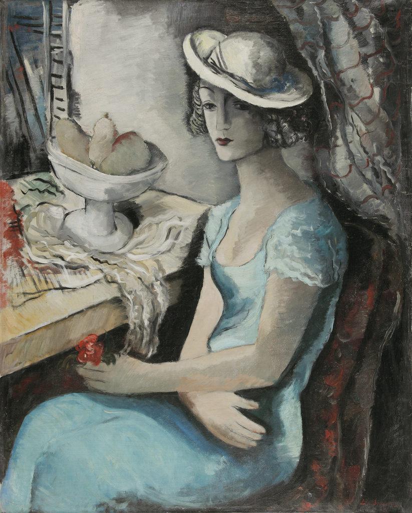 Бенчо Обрешков (1899-1970) <br> Дамски портрет, 1936