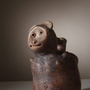 Vessel in the Form of a Cat, 11th c., Ecuador
