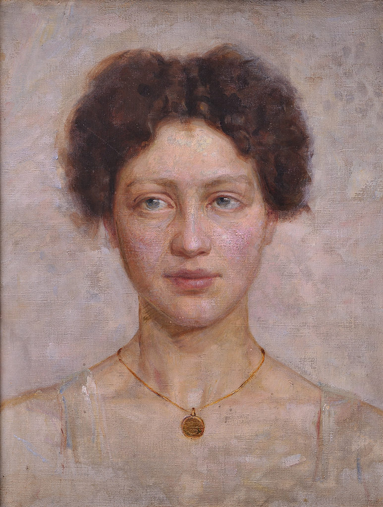 Georgi Mitov (1875–1900) <br> Italian Woman, 1898