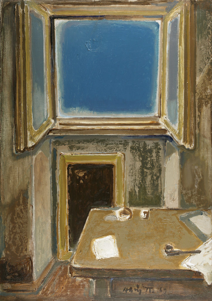 Nayden Petkov (1918–1989) <br> Window, 1969