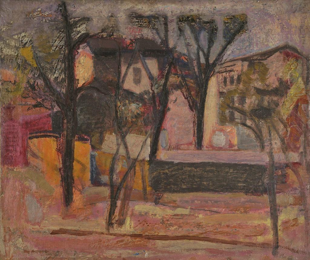 Genko Genkov (1923–2006) <br> Sofia Cityscape, 1959