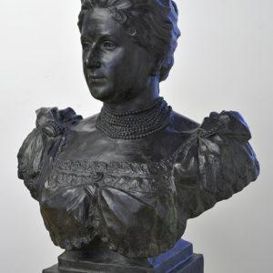 Борис Шац (1866-1932) <br> Портрет на Елена Тантилова, 1897
