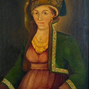Захари Зограф (1810-1853) <br> Портрет на Християния Зографска, около 1840