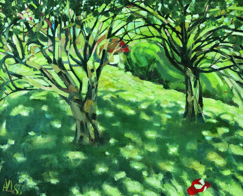 Андрей Даниел (1952) <br> Пейзаж, 1985