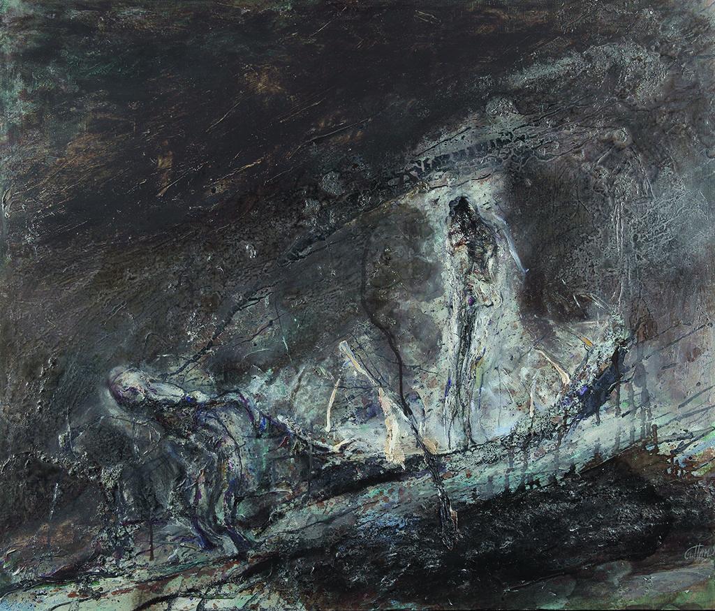 Станислав Памукчиев (1953) <br> По реката, 1990