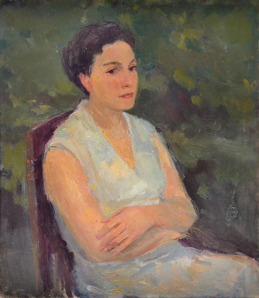 Христо Явашев – КРИСТО (1935) <br> Портрет на Мария, 1955