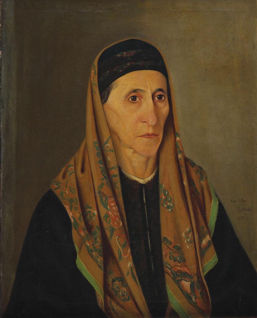 Hristo Tsokev (1847–1883) <br> Portrait of Ivana Nenova, 1875