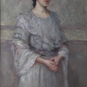Елена Карамихайлова (1875-1961) <br> Портрет на сестра ми Магда, 1910