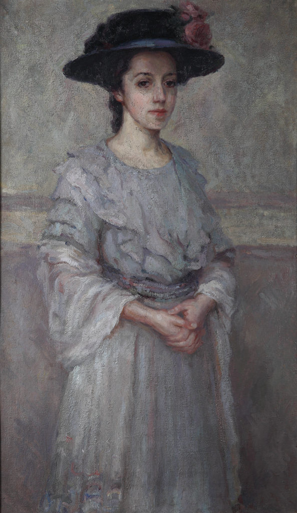 Elena Karamihailova (1875–1961) <br> Portrait of My Sister Magda, 1910