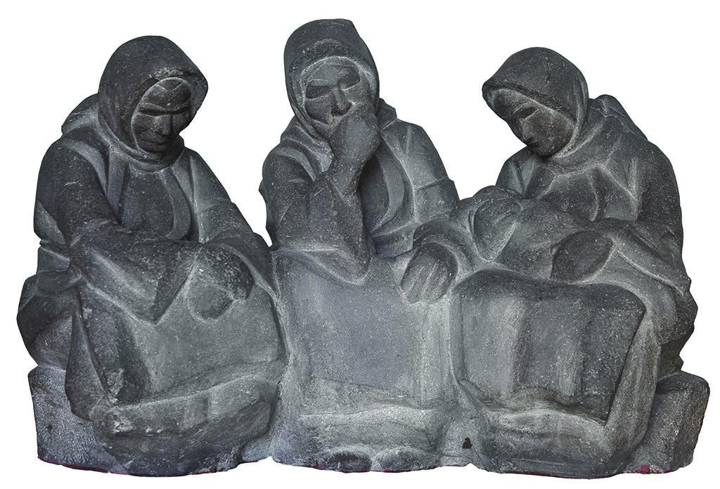 Ivan Lazarov (1889–1974) <br> Peasant Women Resting, 1925