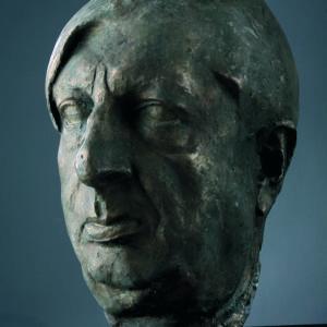 Asen Peykov (1908–1973) <br> Head of Giorgio de Chirico, 1946