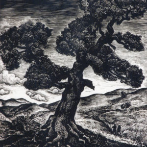 Веселин Стайков (1906-1970) <br> Старият дъб, 1939