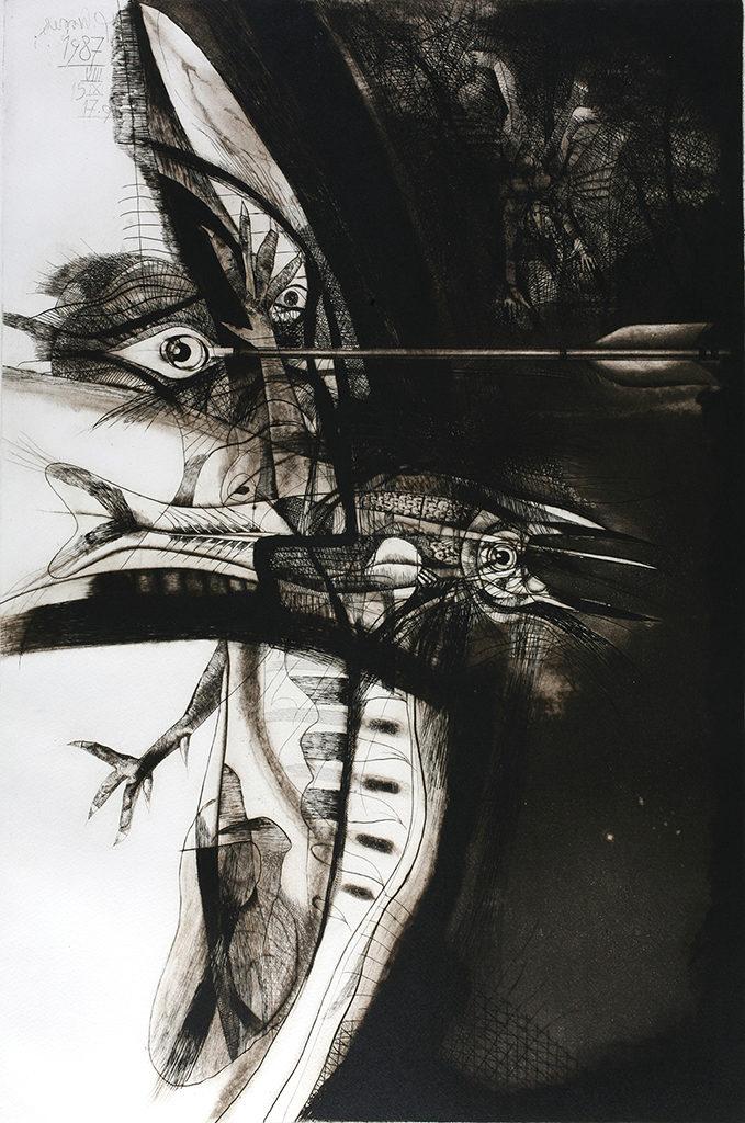 Румен Скорчев (1932-2015) <br> Човекът – природа I, 1987