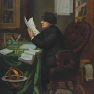Николай Павлович (1835-1894) <br> Портрет на д-р Петър Берон, 1885-1886