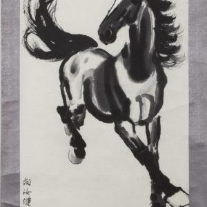 Ци Бай Шъ (1863-1957), <br> стил Го-хай, Китай <br> Конче, ок. 1950