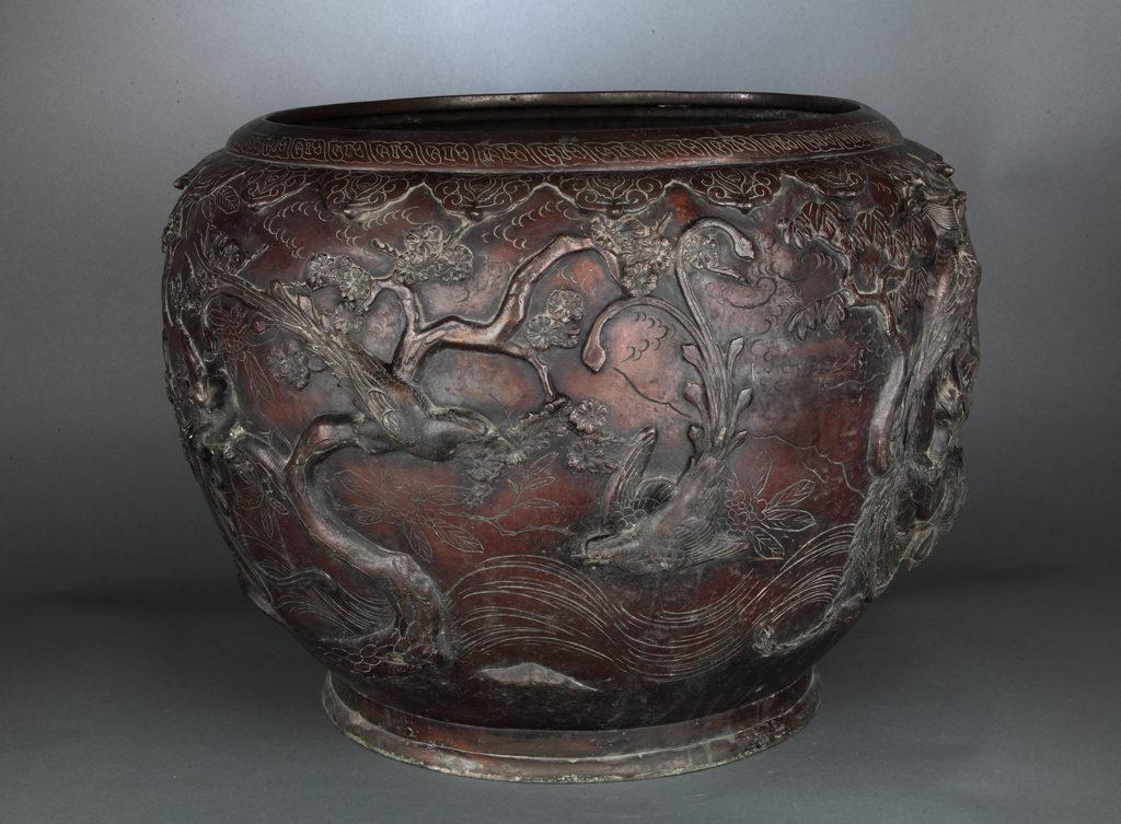 Ваза, XIX в., Китай