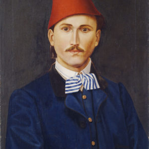 Georgi Danchov (1846–1908) <br> Self-portrait, 1867
