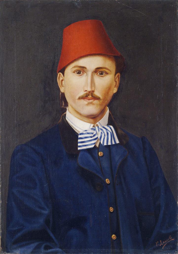 Георги Данчов (1846-1908) <br> Автопортрет, 1867