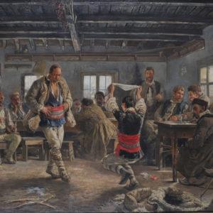 Ivan Mrkvička (1856–1938) <br> Rachenitsa Dance, 1894