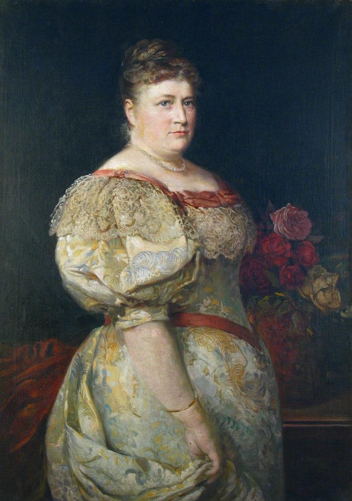 Ivan Mrkvička (1856–1938) <br> Portrait of Amalia Gavrilova, 1896
