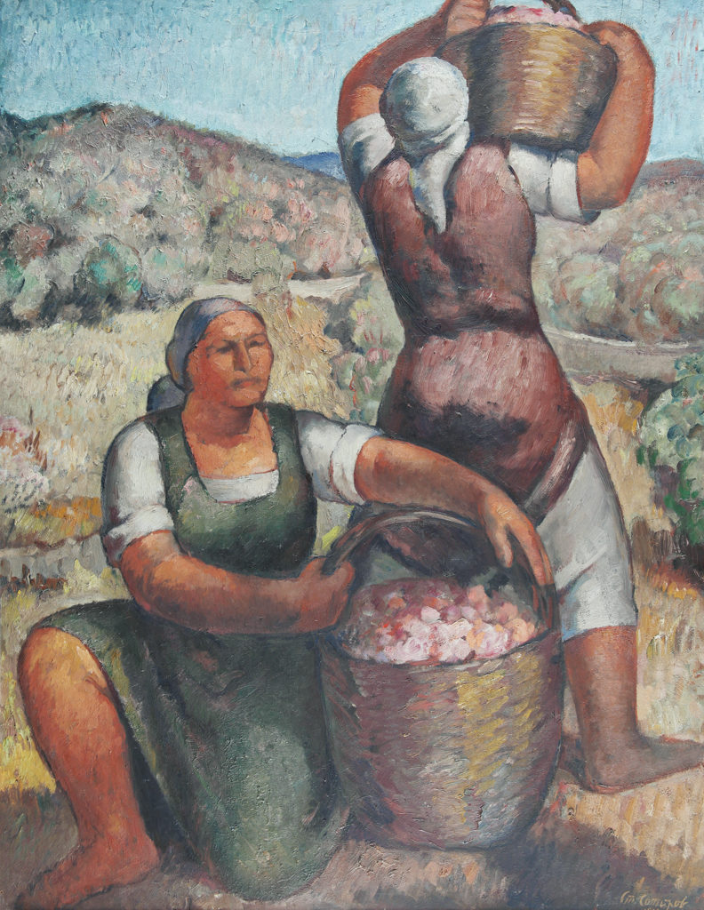 Stoyan Sotirov (1903–1984) <br> Rose Pickers, 1936