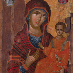 The Holy Virgin Hodegetria, second half of the 16th c. <br>Nesebar, the Church of St Sophia (Old Metropoly Church)