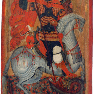 St George, late 15th–early 16th c. <br>Boyana (Sofia)