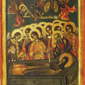 Dormition of St John of Rila, second half of the 18th c.