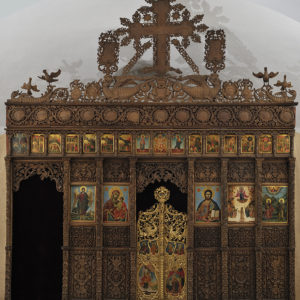 Carved Wooden Iconostasis, 1811 <br> Rila Monastery, the Church of The Protecting Veil of the Mother of God