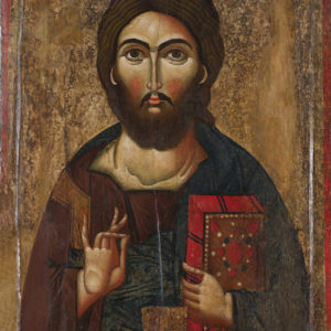 Христос Пантократор, ХІІІ в. <br> Несебър