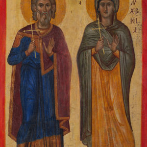 St George—St Gerontius and St Polychronia<br>Nesebar, the Church of St George the Elder