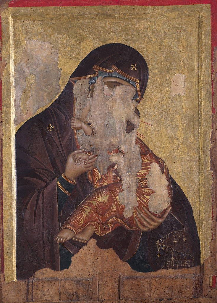 The Holy Virgin Eleousa—Christ Pantocrator
