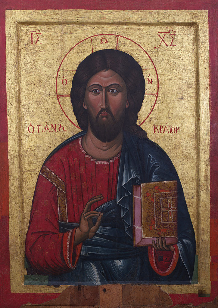 The Holy Virgin Eleousa—Christ Pantocrator