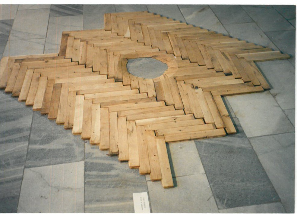 Sasho Stoitzov (1952) <br> Hole in the Parquet, 1989