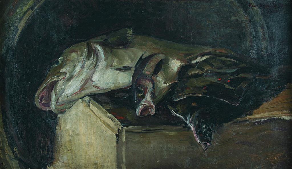 Константин Коровин (1861 – 1939), Русия <br> Риби, 1894