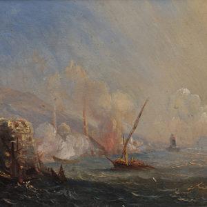 Ivan Aivasovsky (1817–1900), Russia <br> Sudak, 1898