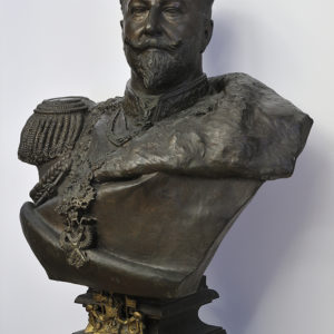 Arnaldo Zocchi (1862–1940), Italy <br> Knyaz Ferdinand of Bulgaria, ca. 1901