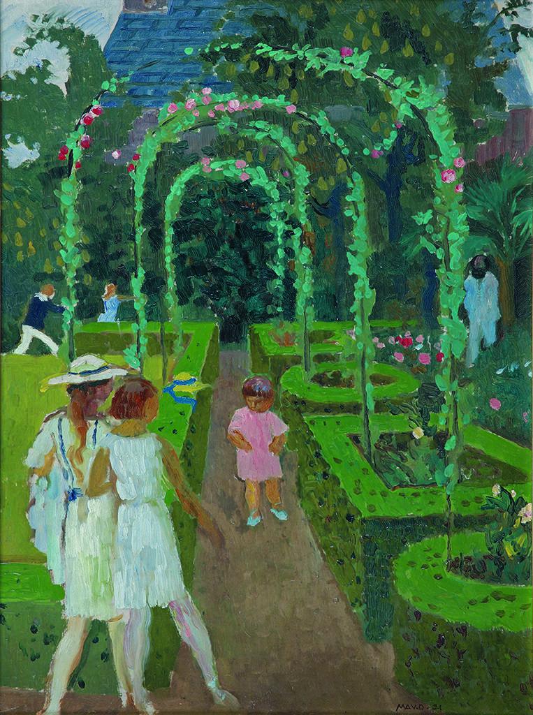 Морис Дени (1870-1943), Франция <br> В градината, 1921