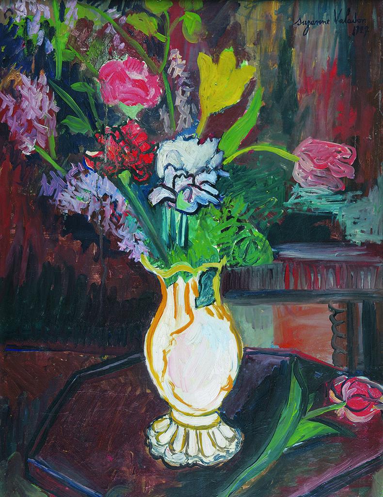 Сюзан Валадон (1865 – 1938), Франция <br> Ваза с цветя, 1927