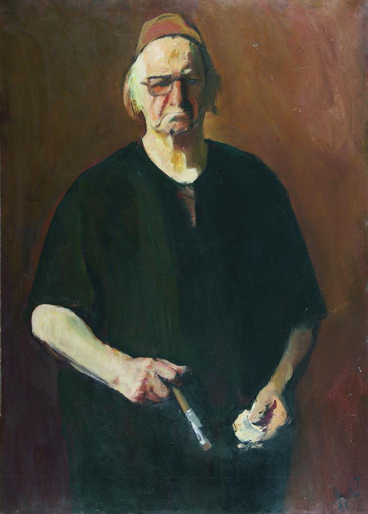 Корнелиу Баба (1906 – 1997), Румъния <br> Автопортрет, 1981