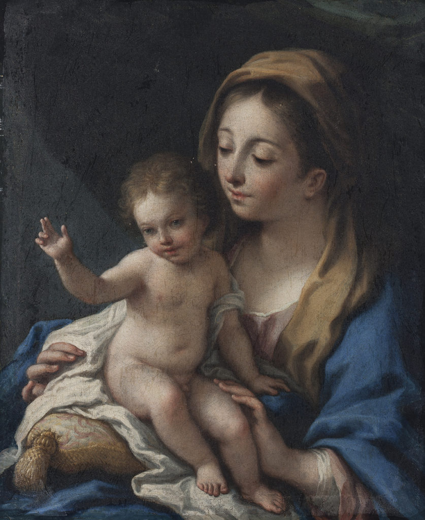 School of Antonio Allegri da Correggio (1489–1534), Italy <br> Madonna and Child